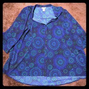 Catherine's beautiful blouse 3x